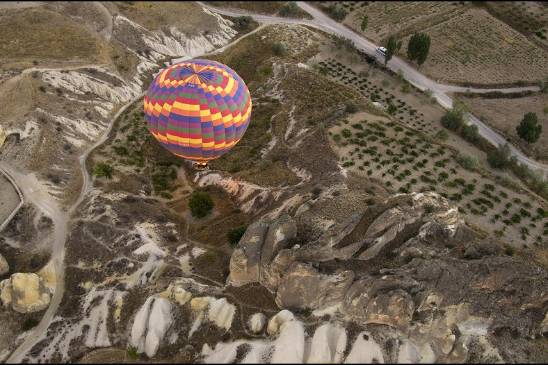 Balloons at Cappadocia